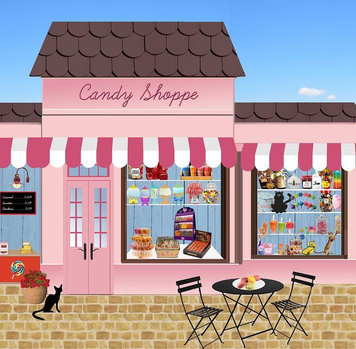 Eine kleine Aufmerksamkeit aus dem Süßigkeiten Shop