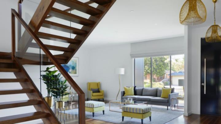 Holztreppen für ein modernes Zuhause